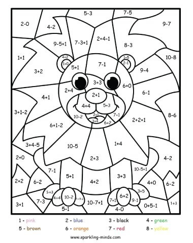 Add and Color Worksheets