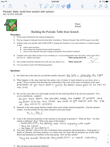 Haley s Chemistry Blog Building the Periodic Table from Scratch