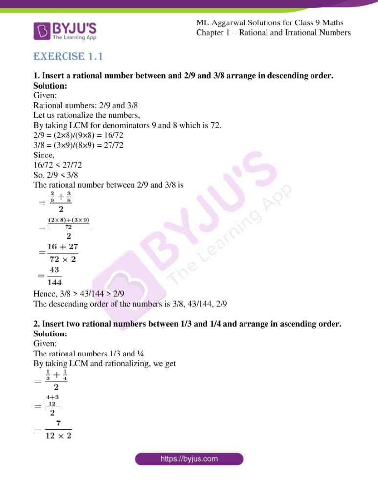 Classifying Numbers Worksheet Answers