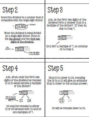 Compatible Numbers Worksheet 5th Grade
