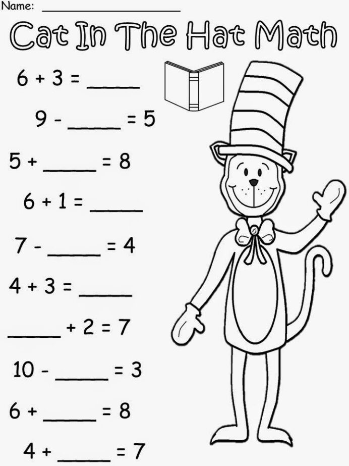 March Into With More Cat In The Hat Dr Seuss Crafts Free