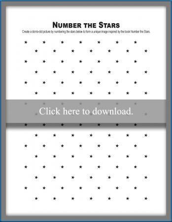Free Number the Stars Activities LoveToKnow