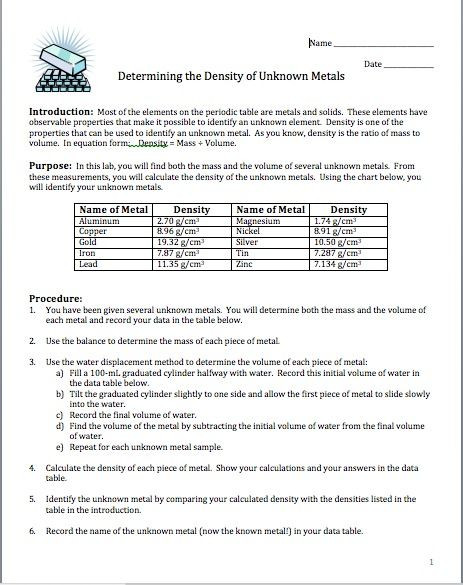 Periodic Table Puns Worksheet Answers - Template Library