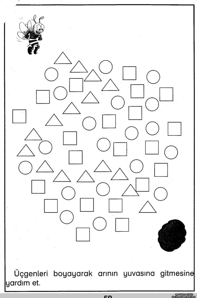 Area with Fractions Worksheet