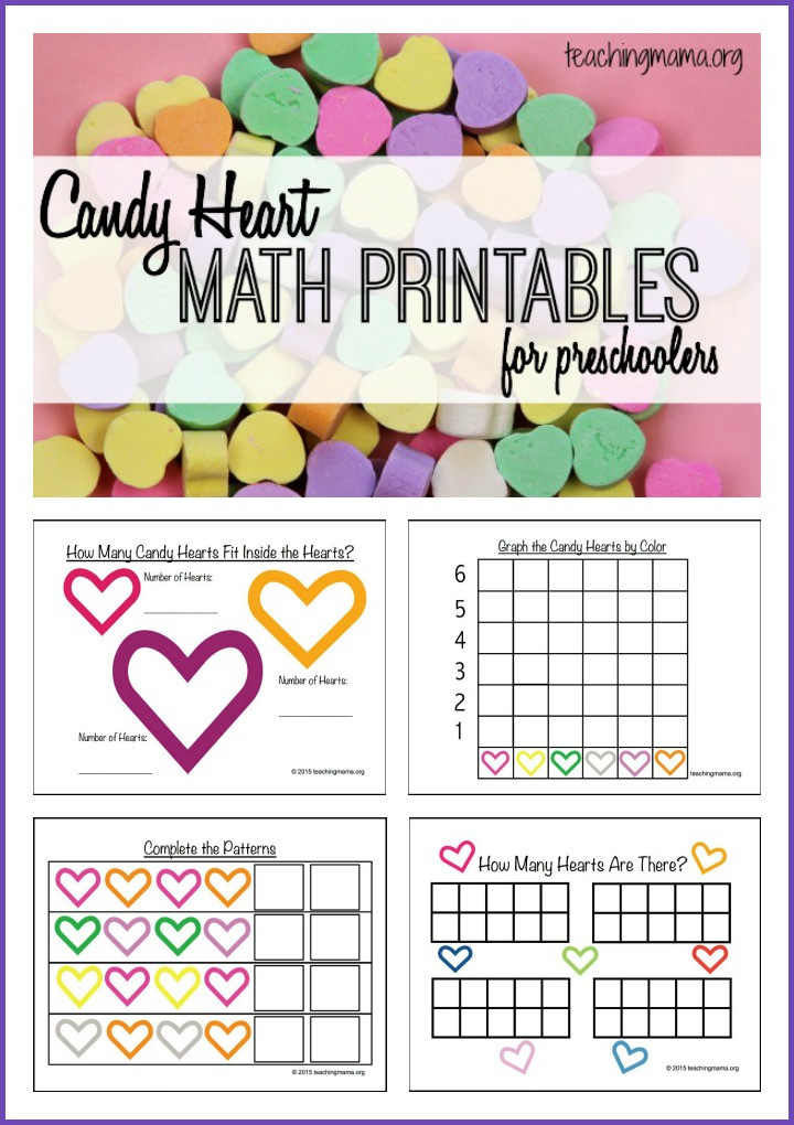Candy Heart Graphing Worksheet