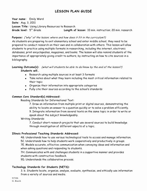 12 Citing sources Worksheet 5th Grade