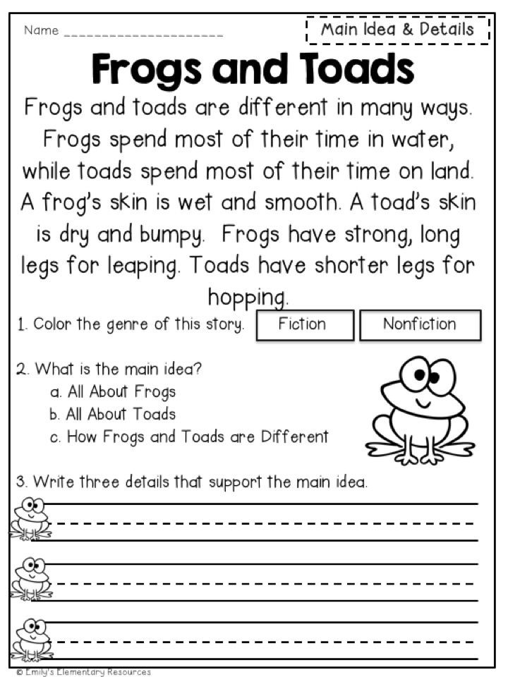 Close Reading Passages Worksheets