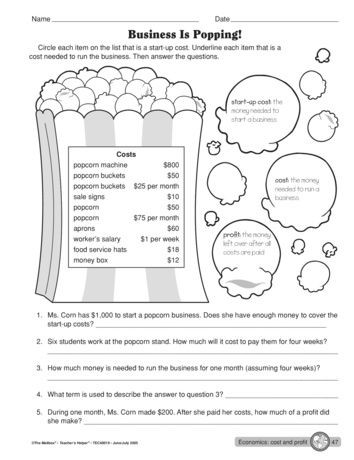 Economics and You Worksheets