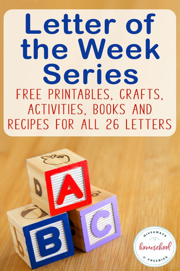 Letter of the Week Series FREE Alphabet Printables