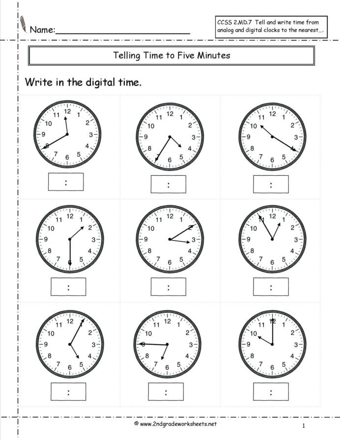 Sequence Worksheets First Grade